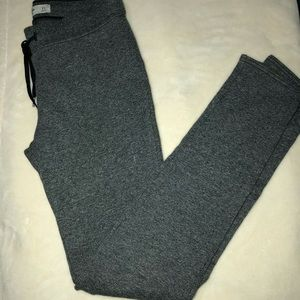 Abercrombie & Fitch gray skinny joggers